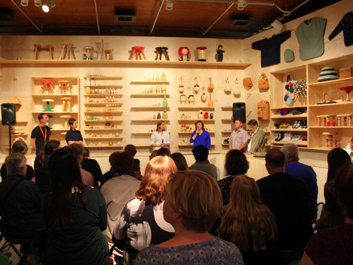 Демонстрация мастерства в DESIGN MUSEO в Хельсинки